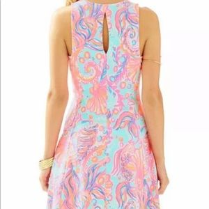 NWT LILY PULITZER FELICITY DRESS IN PINK POUT XS